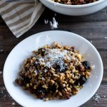 Lamb Sausage and Dried Fig Farro