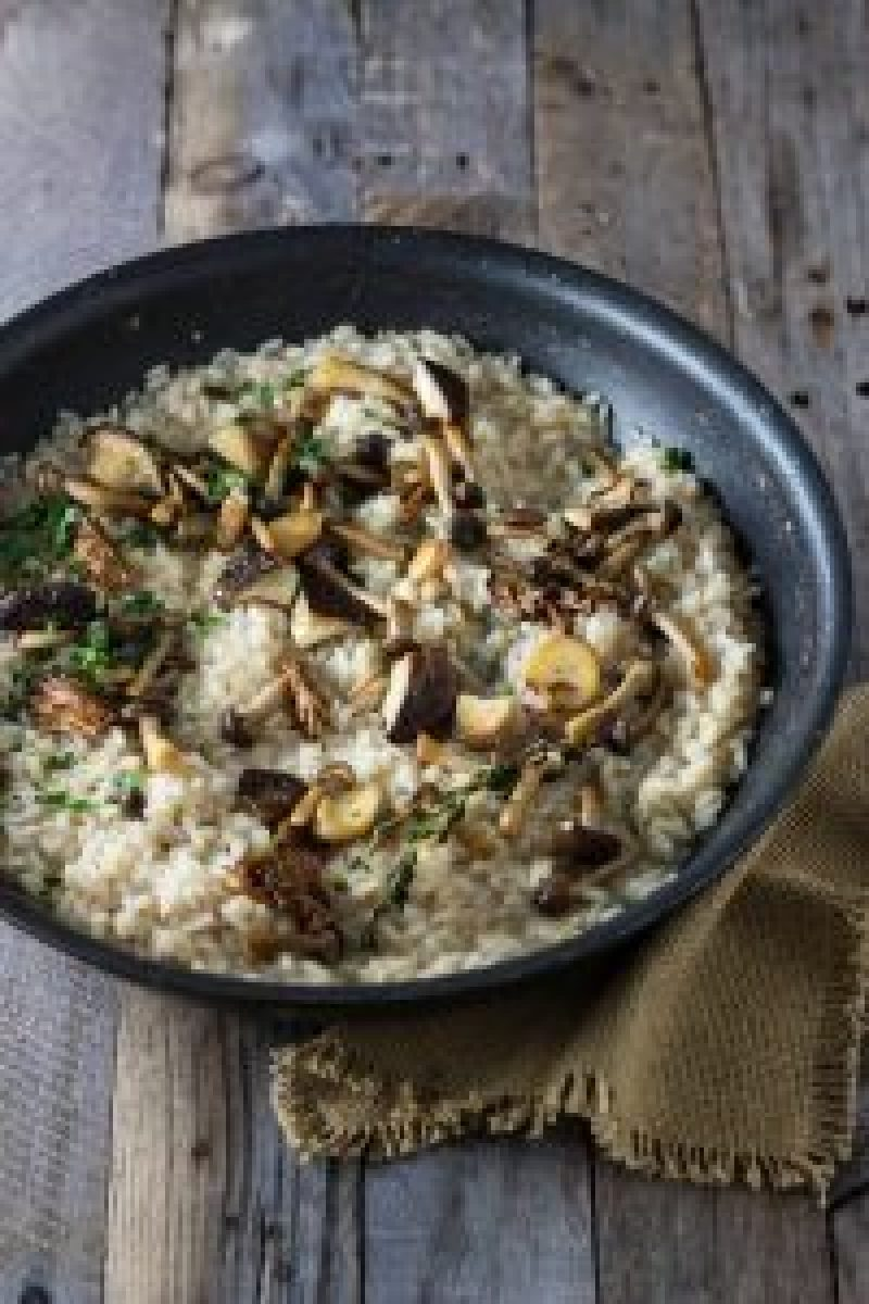 Wild Truffle Mushroom Risotto