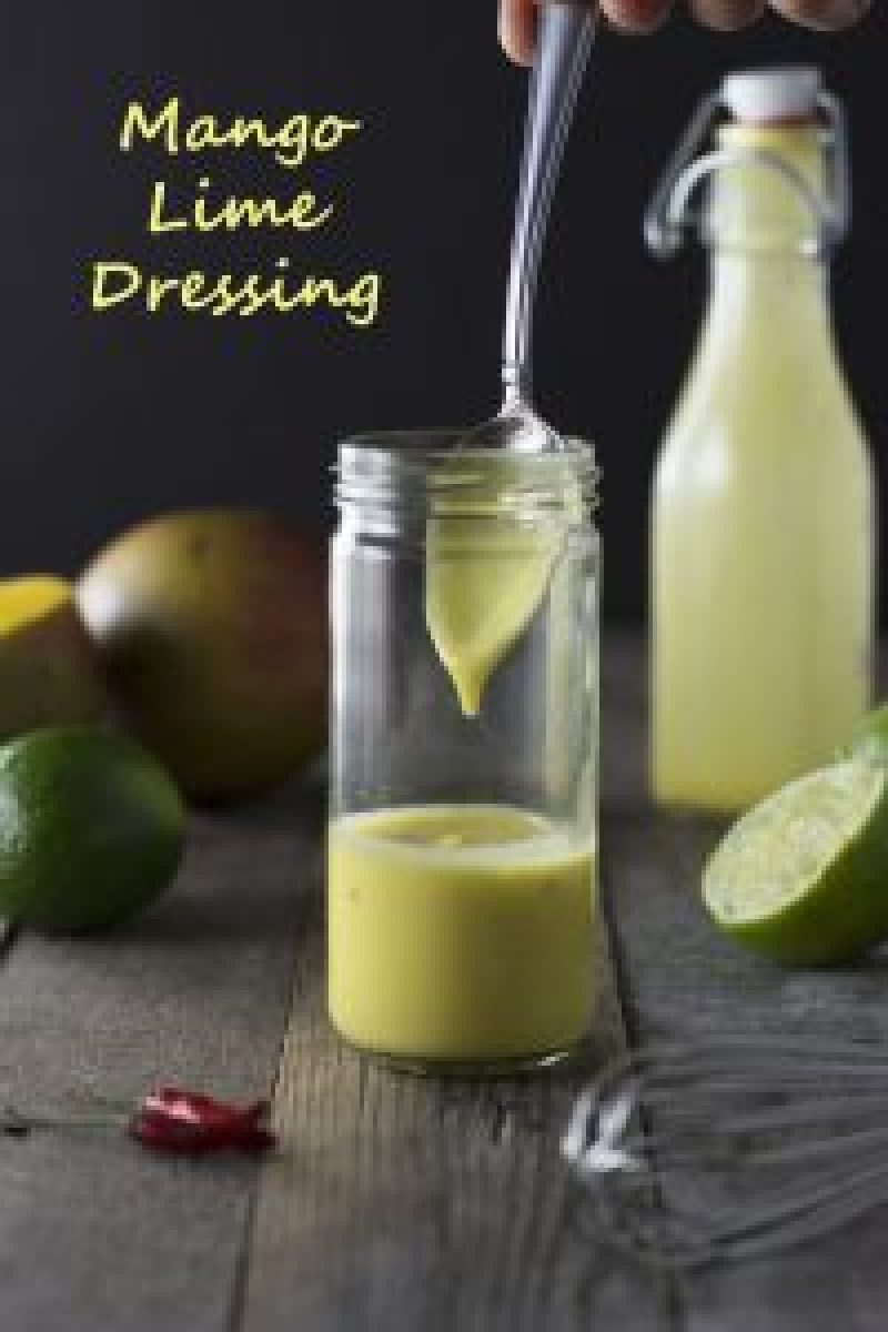 Mango Lime Dressing