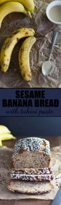 Sesame Banana Bread