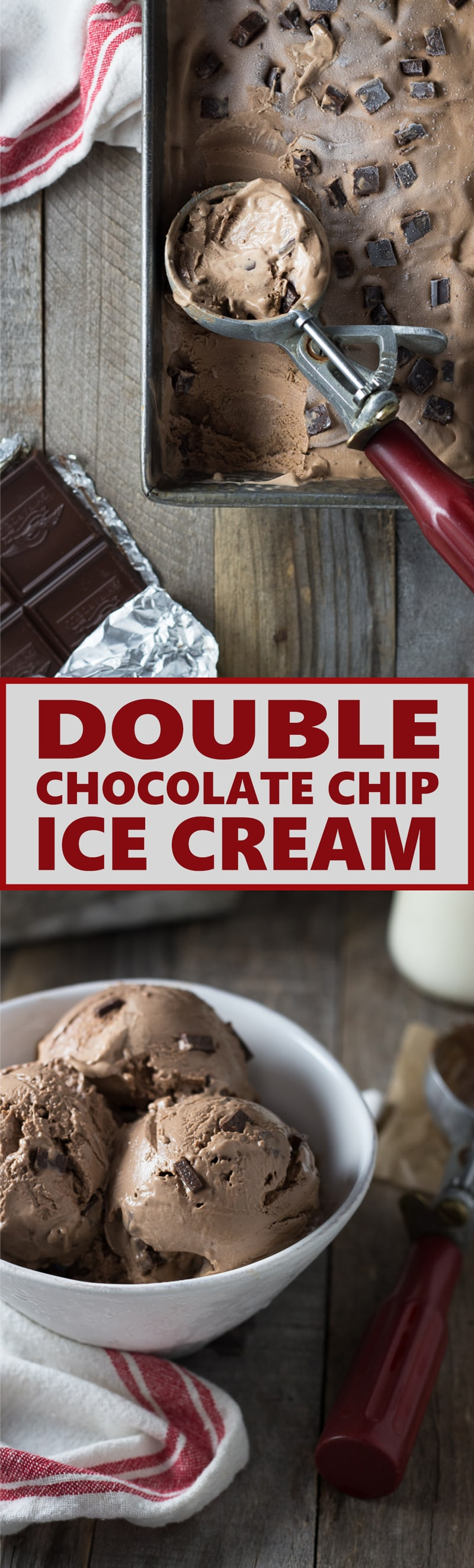 Double Chocolate Chip Ice Cream