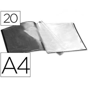 Capa de Catálogo A4 c/ 20 Micas