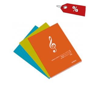 Caderno de Música A4 20F