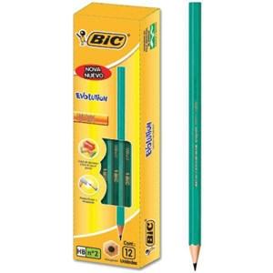 Cx. c/12 Lápis HB BIC Eco Evolution Nº2