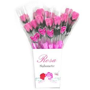 Sabonete em forma de Rosa - Mãe