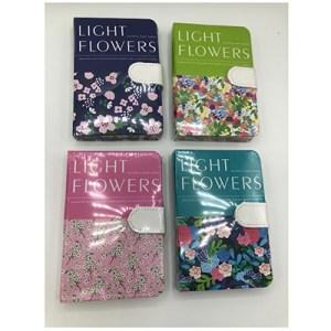 Bloco c/presilha - Light Flowers