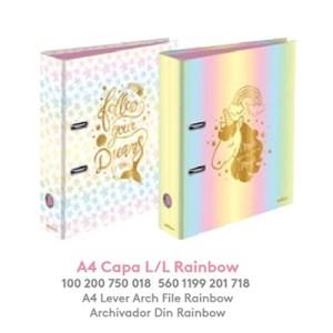 Capa A4 L/L - Rainbow