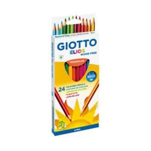 Emb. c/24 lápis de cor Elios triangular - Giotto