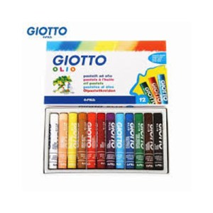 Emb. c/12 lápis pastel a óleo - Giotto