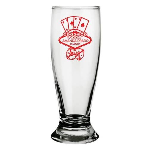 Copos de Cerveja Personalizados 300ml Modelo Munich