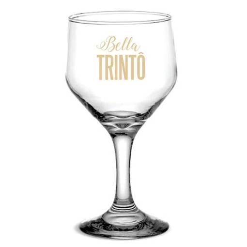 Taça de Vidro Personalizada Bistro de Vinho 260ml