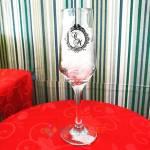 Taças de Vidro Personalizada Bistro Champanhe 185ml