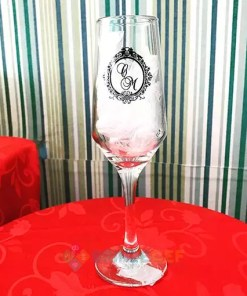Taças de Vidro Buffet Champanhe 186ml 2