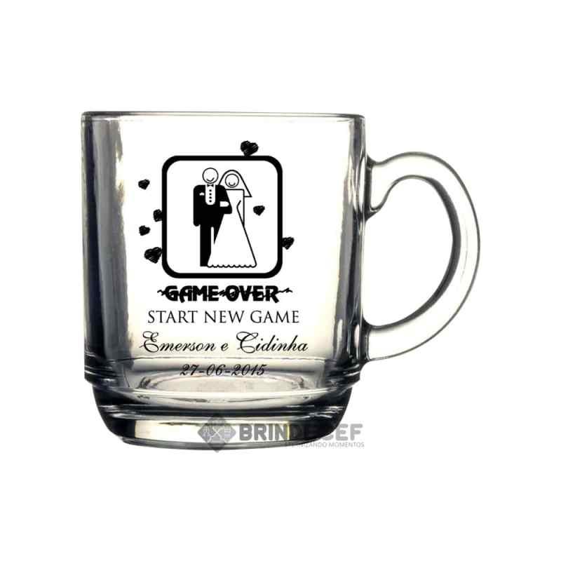 Caneca de vidro personalizada: Por que é a melhor escolha para meu casamento? 37