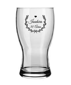 Copo de Cerveja de Vidro Frevo 320 ml Personalizado