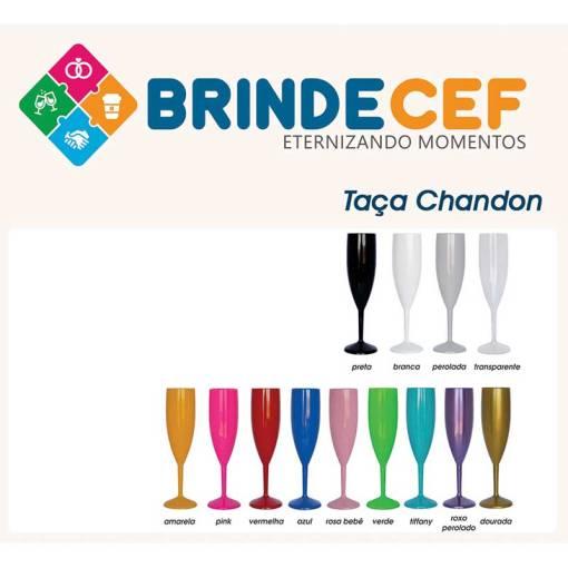 Taça de Acrilico Chandon Personalizada 190ml