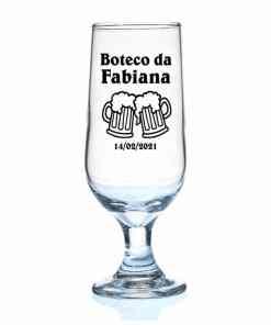 Taças de Vidro de Cerveja Hannover 300ml Personalizadas