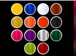 Canecas de Aluminio 500 ml Coloridas Personalizadas