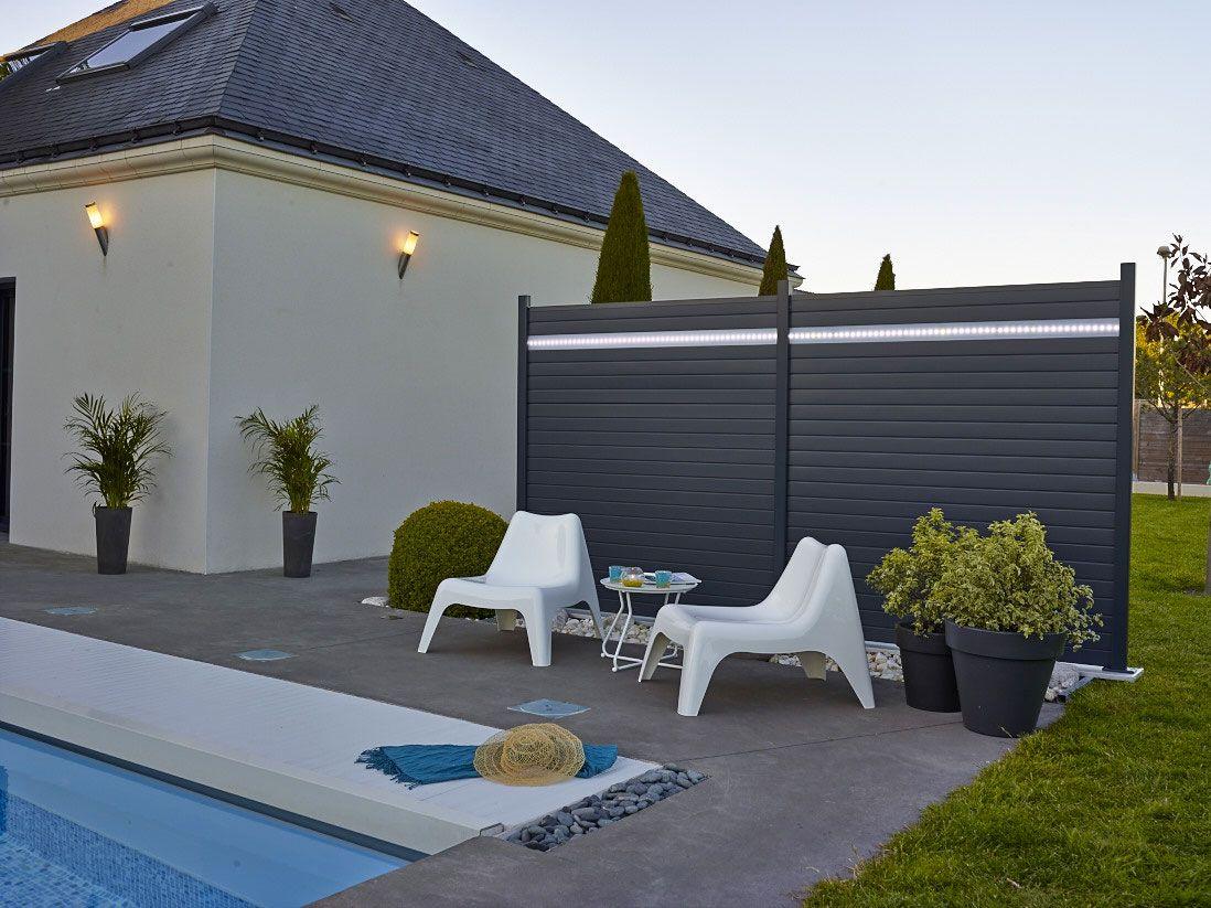 brise vue aluminium brin de jardins