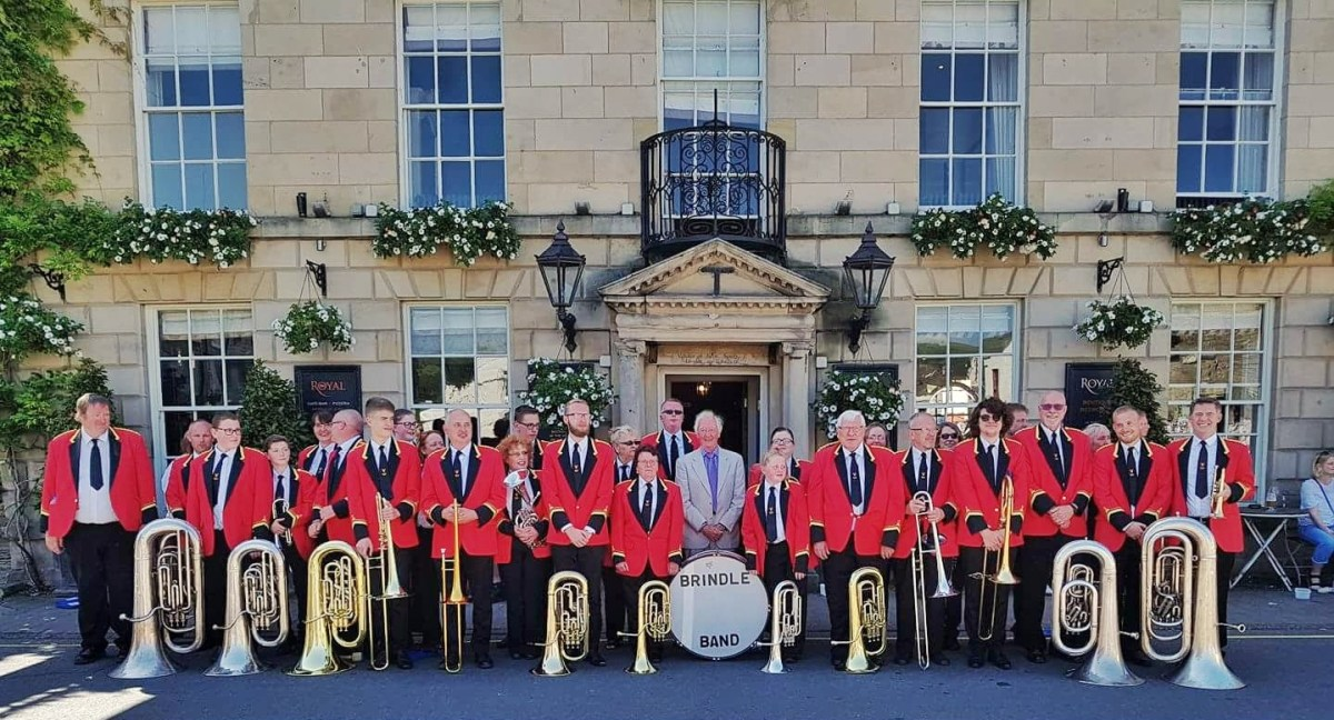 Brindle Band at Kirkby Lonsdale