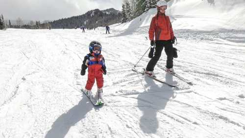 teach your own kids to ski