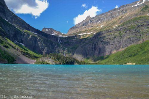 grinnell lake, glacier lake