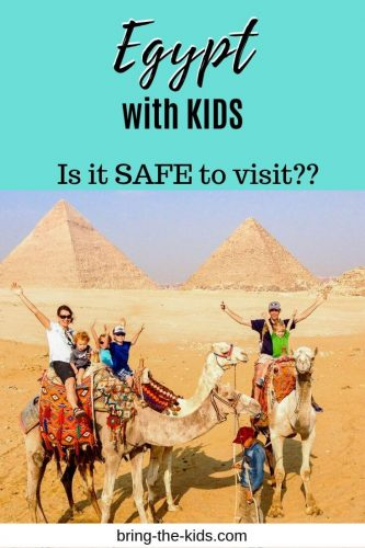 egypt with kids, camel rides, pyramids of giza