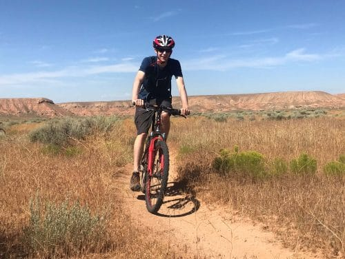 mountain biking mccoy flats
