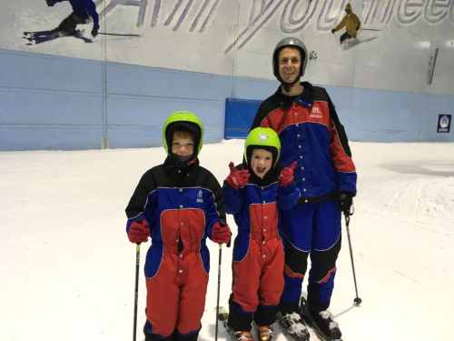skiing family ski dubai uae