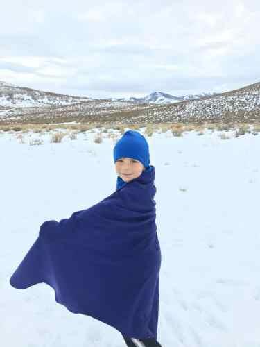 kids merino wool blanket