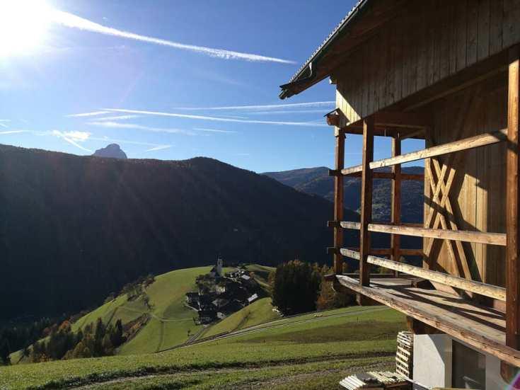 Little Farm in the Dolomites in Marebbe, Trentino-Alto Adige, Italy