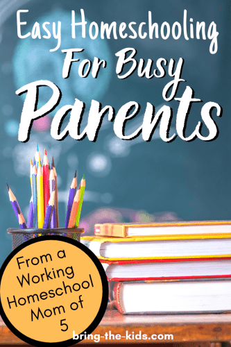 Easy Homeschooling for Busy Parents