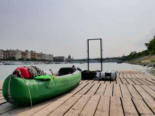 kayaking europe with teens