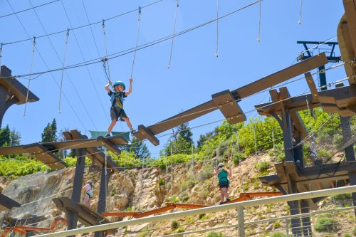 discovery course Olympic Park Ropes course