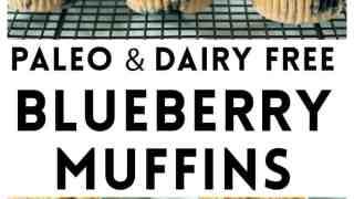 Best Paleo Blueberry Muffins