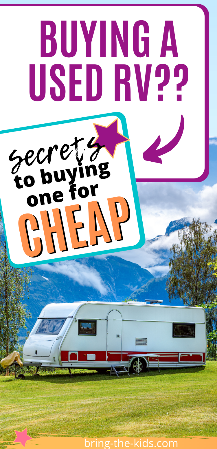 Secrets to buying a used RV