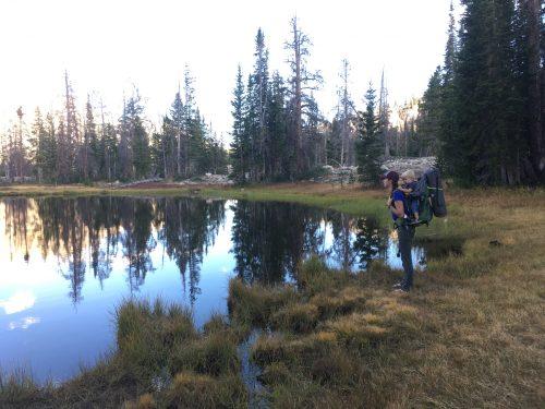Ruth lake hiking with kids