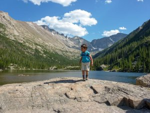 visiting rocky mountain national park with kids