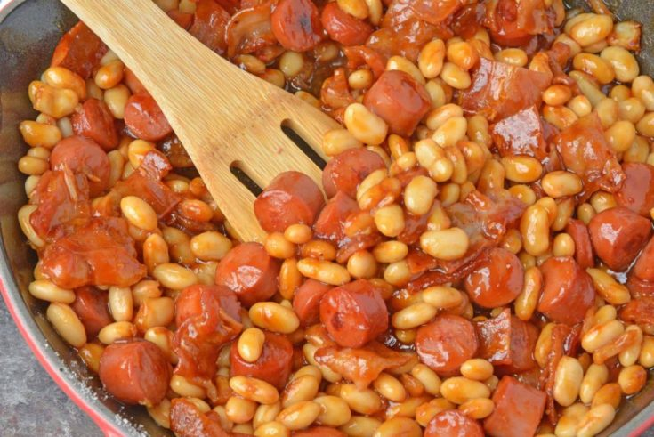 Easy Homemade Franks and Beans