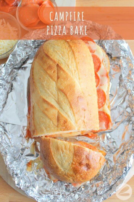 Campfire Pizza Bake Recipe » Homemade Heather
