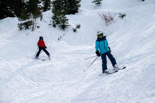 intermediate skiing solitude