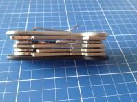 Zehn Schlüssel simpel untergebracht