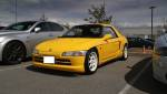 Yellow Honda Beat