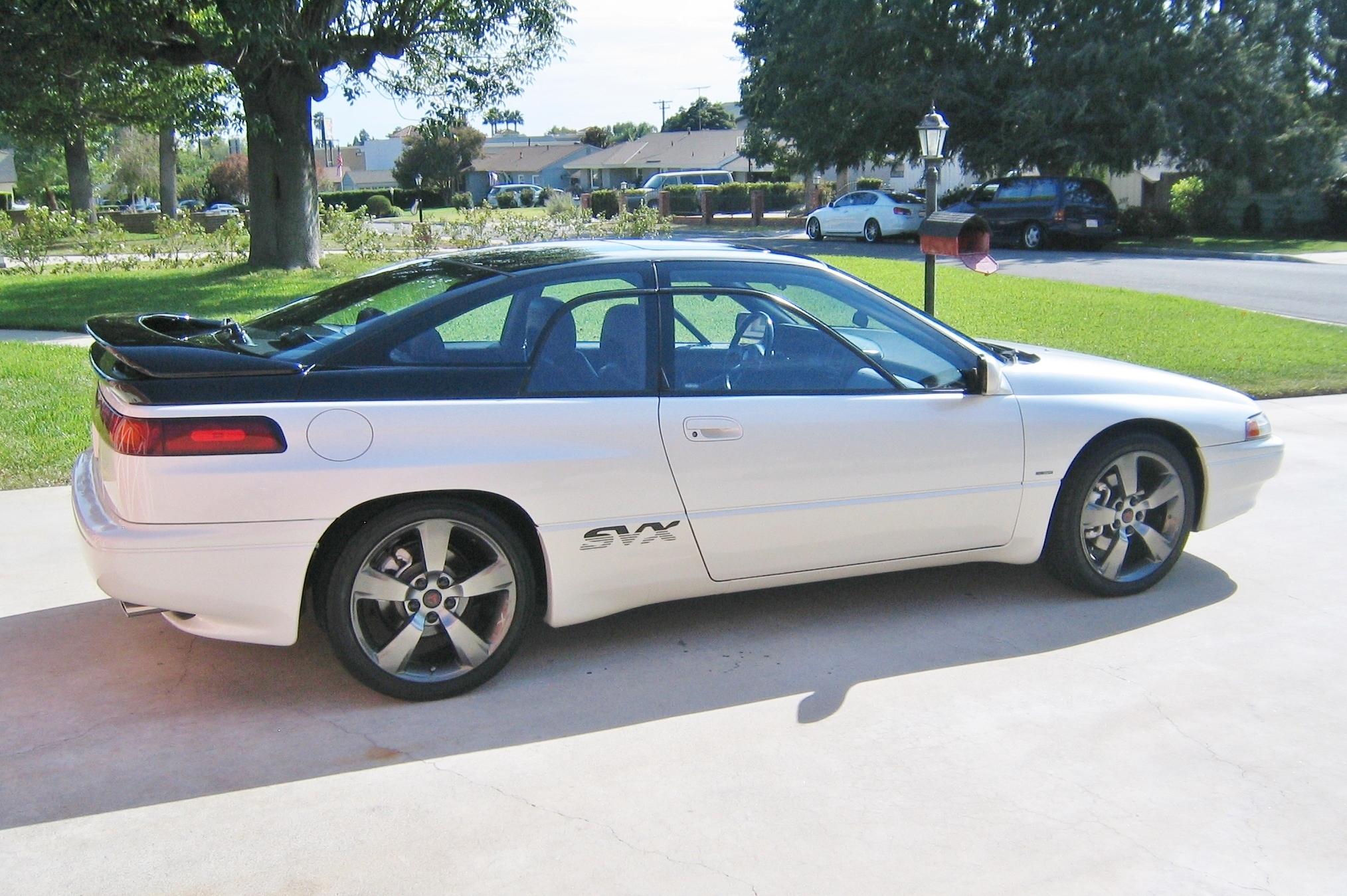 Customized Subaru Svx