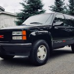 19k Mile 1995 Gmc Yukon Gt 4x4 For Sale On Bat Auctions Sold For 29 250 On August 15 2018 Lot 11 653 Bring A Trailer