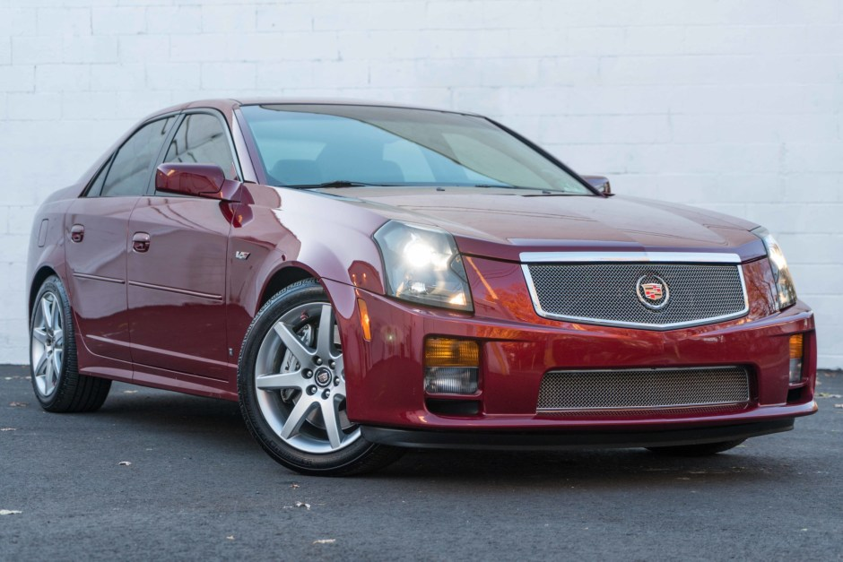 33k mile 2007 cadillac cts v for sale on bat auctions closed on december 24 2019 lot 26 458 bring a trailer