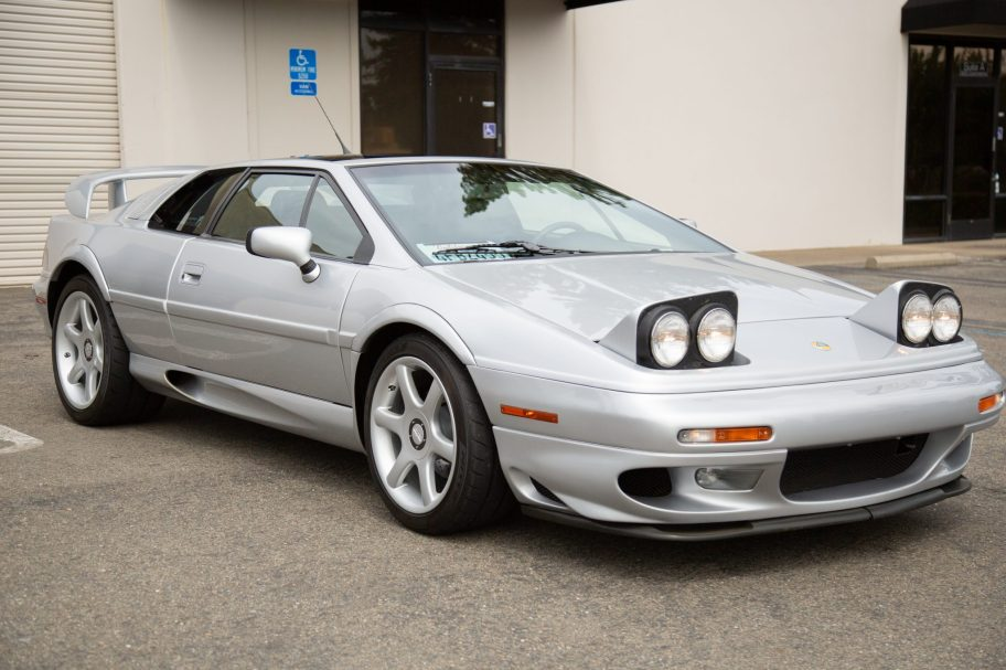 38k-Mile 1999 Lotus Esprit V8