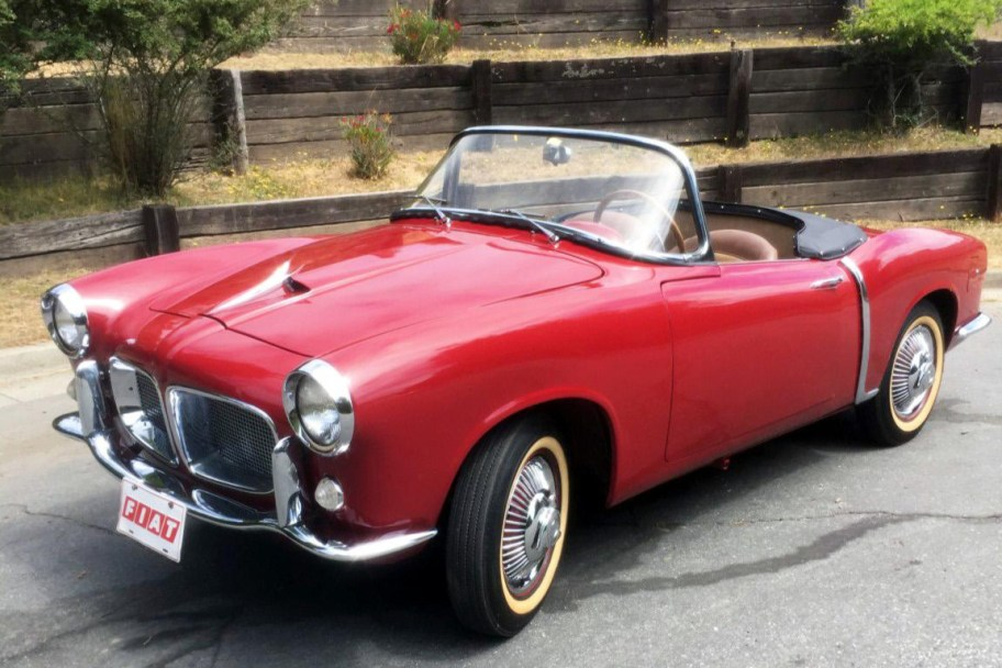 35-Years-Owned 1957 Fiat 1200 Turismo Veloce Trasformabile