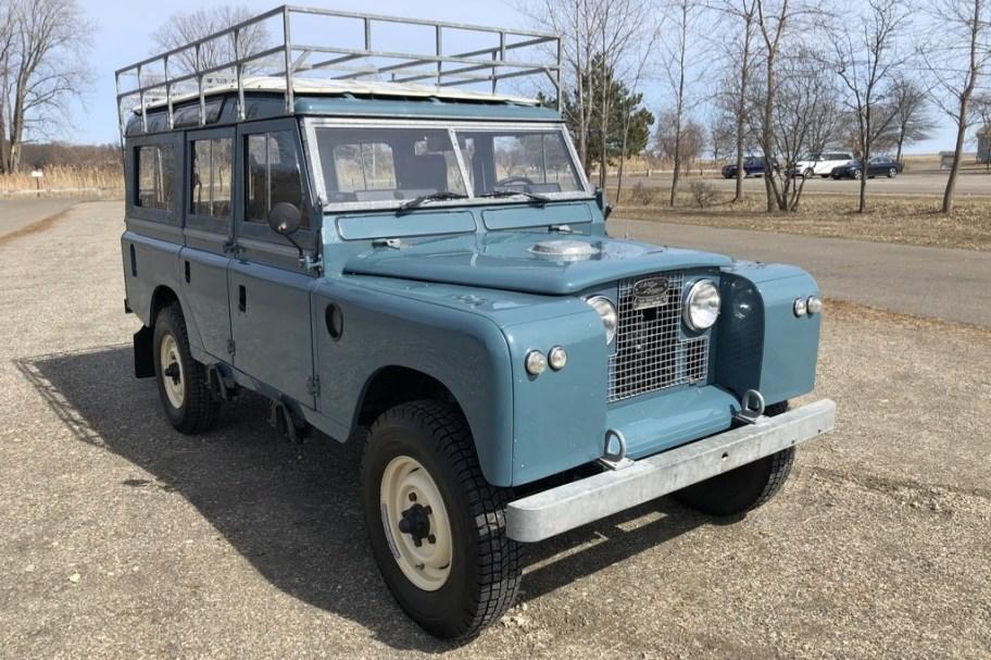 1967 Land Rover 109 NADA 4x4 EFI 3.9L 5-Speed