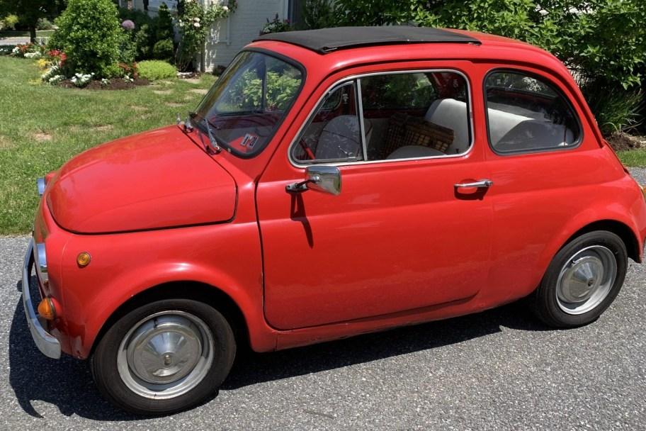 No Reserve: 1973 Fiat 500R